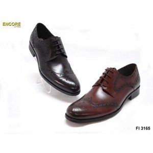 NWB Encore Fiesso Wing tip Leather Shoes FI3165